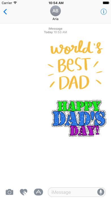 Happy Fathers Day Sticker Gifs screenshot 1