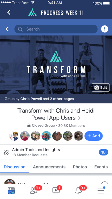 Transform with Chris and Heidi Screenshot
