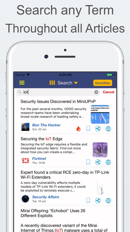 CyberNews - Cyber Security screenshot-3