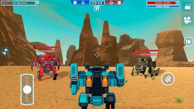 Blocky Cars Online - tank wars screenshot-4