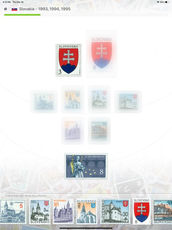 Screenshot #5 pour Philatelist tablet