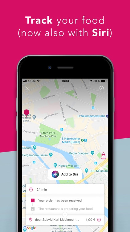 foodora - Local Food Delivery screenshot-3