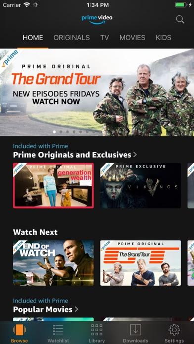 Amazon Prime Video app image