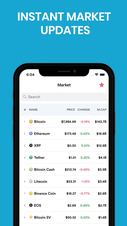 Cryptopedia - Currency Tracker
