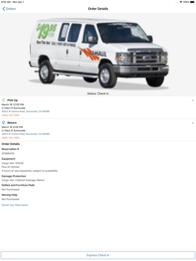 U-Haul on the App Store