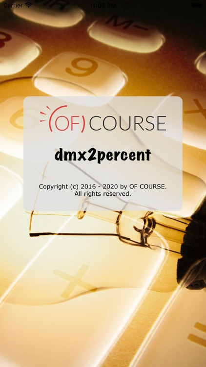 DMX2Percent