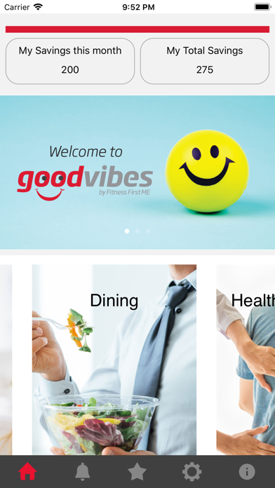 Good Vibes by Fitness First ME screenshot 2