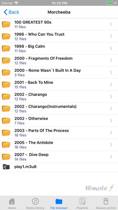 Wmote review screenshots