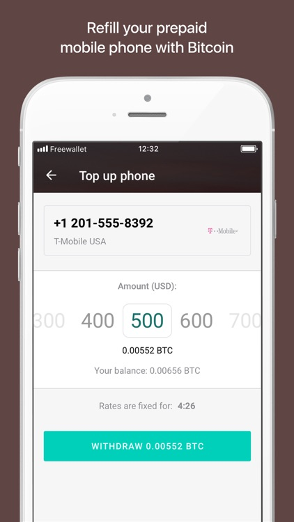 Bitcoin Wallet by Freewallet screenshot-3