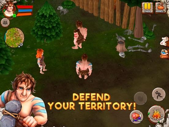 Caveman Island Survival Sim 3D-ipad-2
