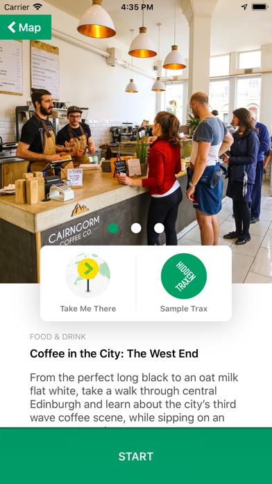Hidden Trax - City Guide screenshot three