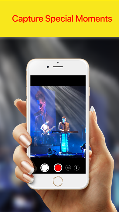 Screenshot for Concert Camera ◎ in India App Store