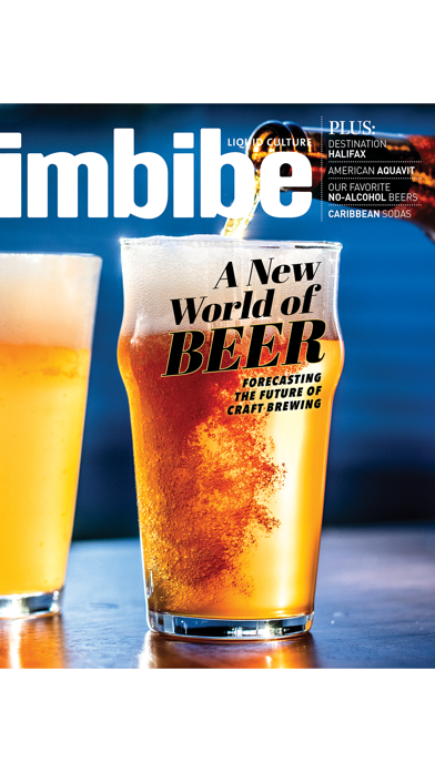 Imbibe Magazine review screenshots