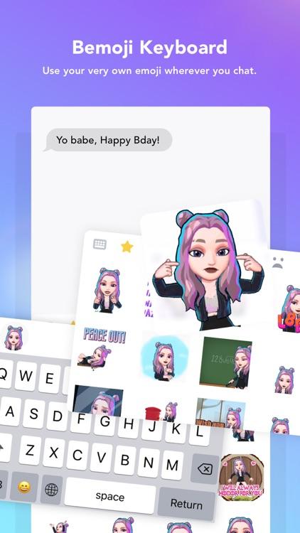Bemoji | Your 3D Avatar Emoji screenshot-3