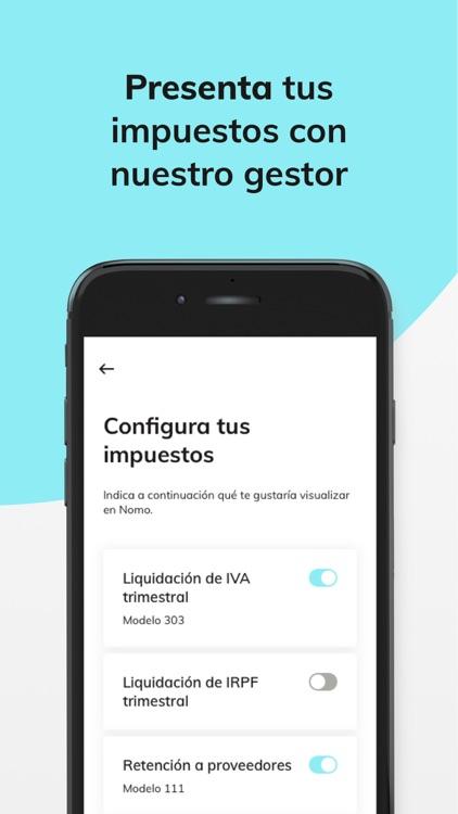 Nomo - Autónomos y Freelances screenshot-4
