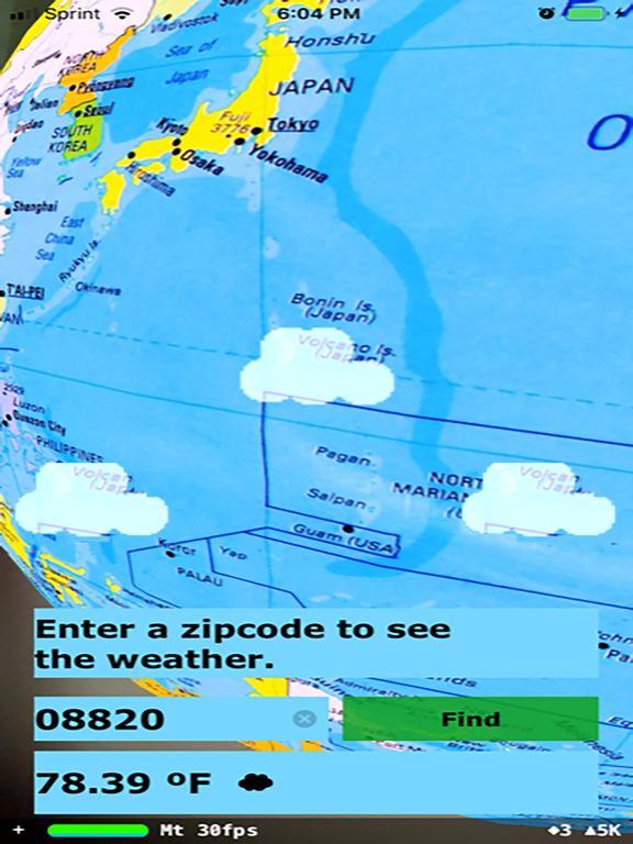 Rotating Globe screenshot 11