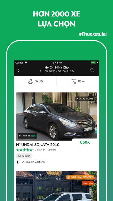 MIOTO - Ứng dụng thuê xe screenshot four