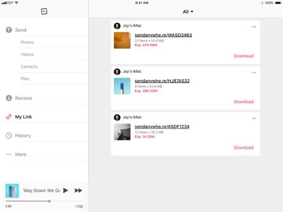 Send Anywhere (File Transfer, Sharing) screenshot