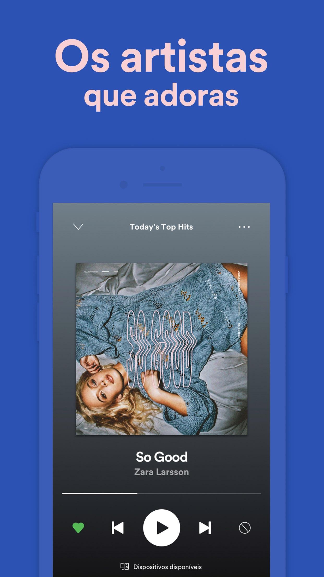 Spotify - Música e Podcasts Screenshot