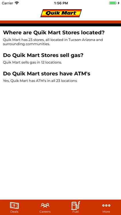 Quik Mart Rewards screenshot-3