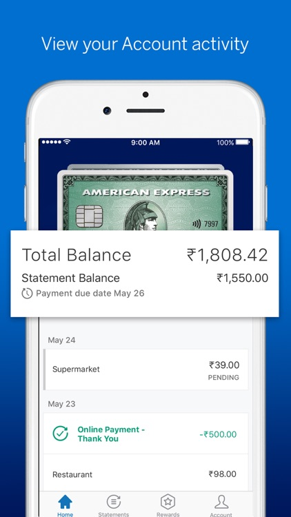 Amex India screenshot-3