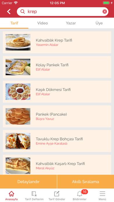 Screenshot for Nefis Yemek Tarifleri in Germany App Store