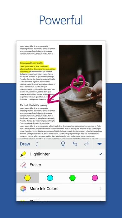 Screenshot for Microsoft Word in Philippines App Store