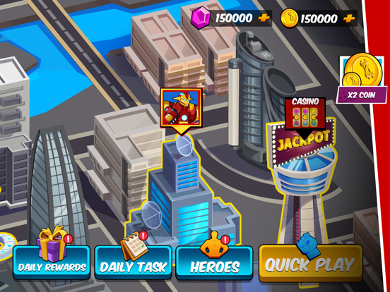 Robot Superhero: Boxing Games screenshot 4