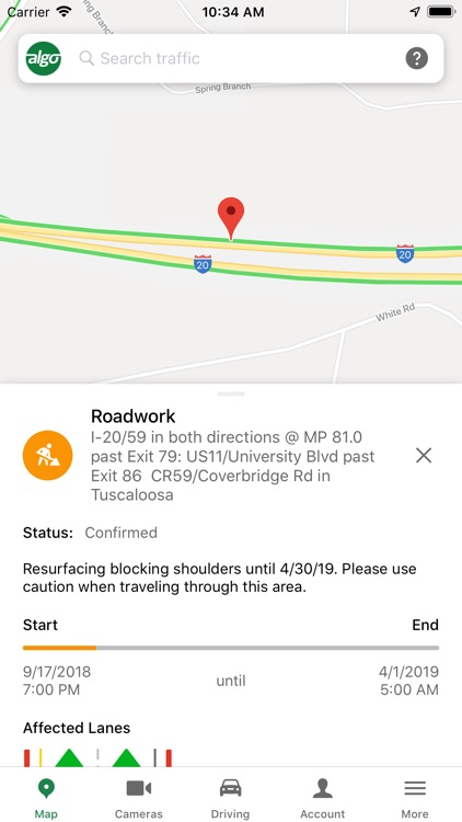 ALGO Traffic (by ALDOT & ALEA) screenshot-4