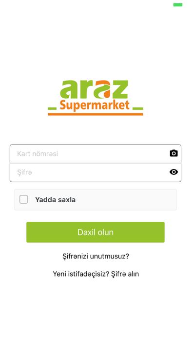 Screenshot for Araz in Azerbaijan App Store