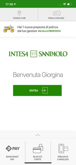 Intesa Sanpaolo Mobile Su App Store