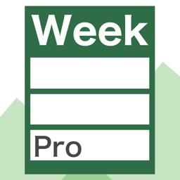 WeekTable2 Pro -Week timetable