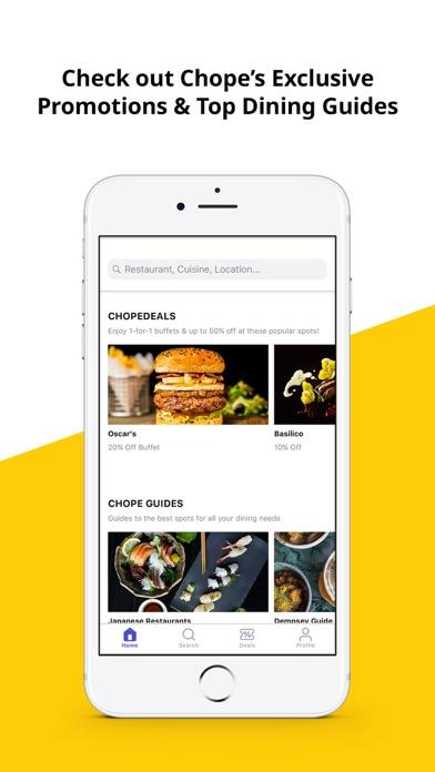 다운로드 Chope - Discover, Book, Save Android 용