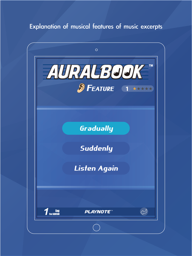 AURALBOOK for ABRSM Grade 1 HD on the App Store