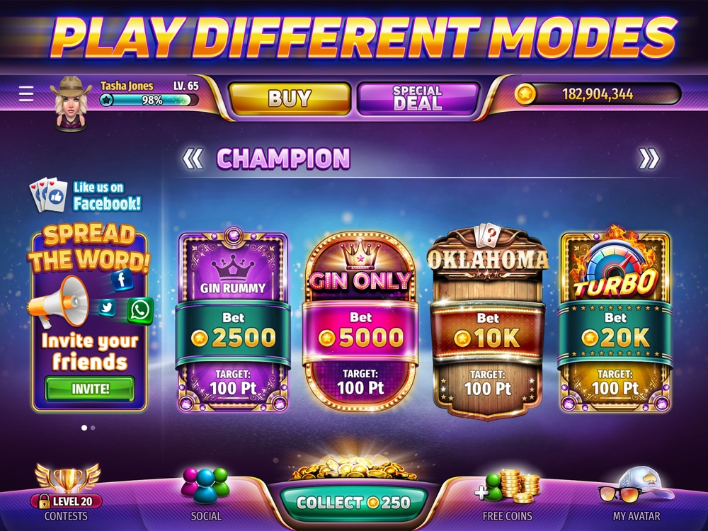 Gin Rummy Stars - Card Game App for iPhone - Free Download Gin Rummy Stars - Card Game for iPad
