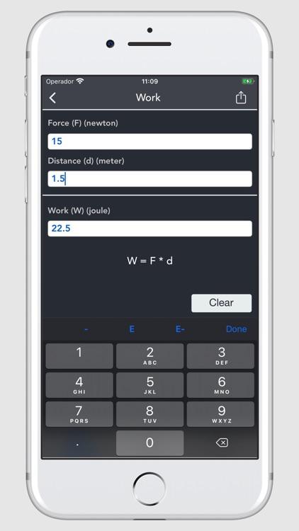 Thermodynamics Calculator screenshot-8