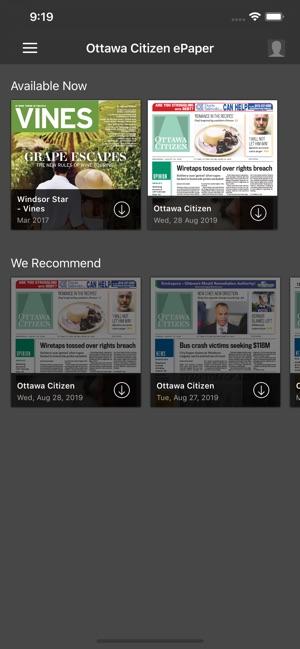 Ottawa Citizen ePaper on the App Store