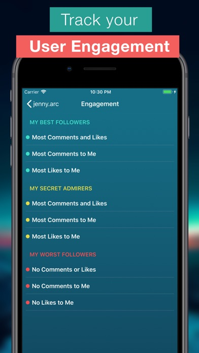 Screenshot for Followers Pro + for Instagram in Colombia App Store