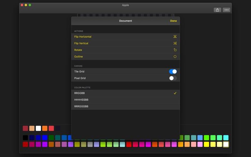 Sprite Pencil for Mac