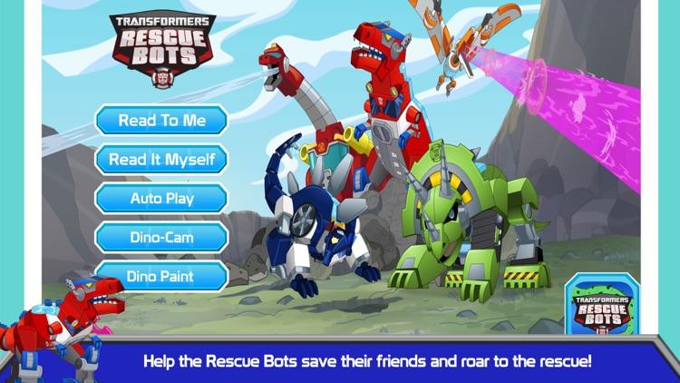 Transformers Rescue Bots: Dino screenshot-0