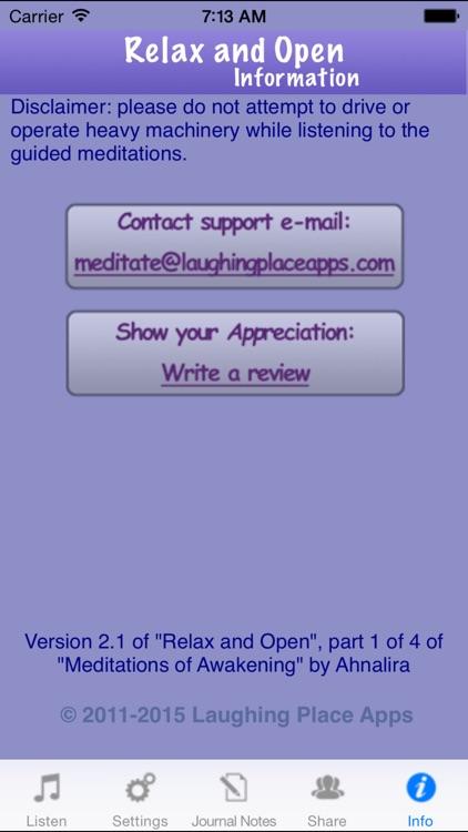 Relax and Open screenshot-4