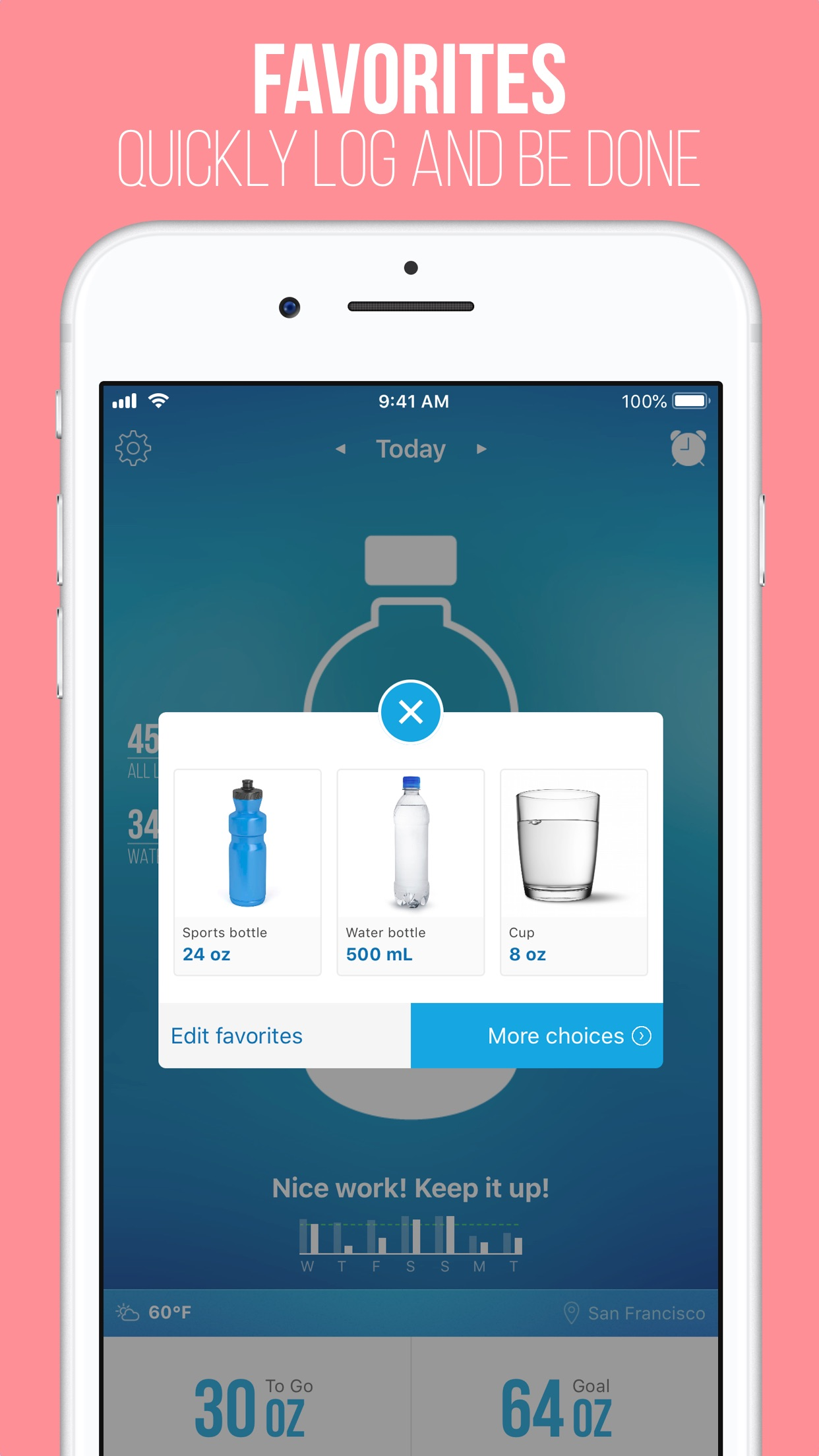 Waterlogged — Drink More Water Screenshot