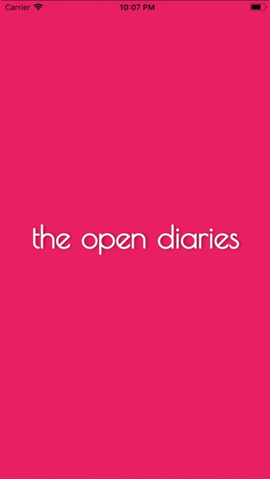 The open diaries app image