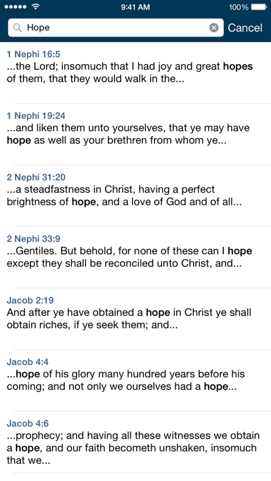 The Book of Mormon screenshot three
