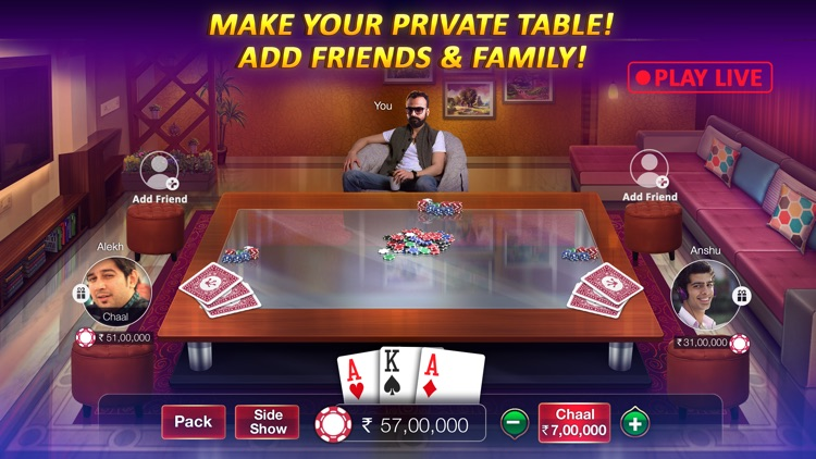 Teen Patti Gold, Poker & Rummy screenshot-4