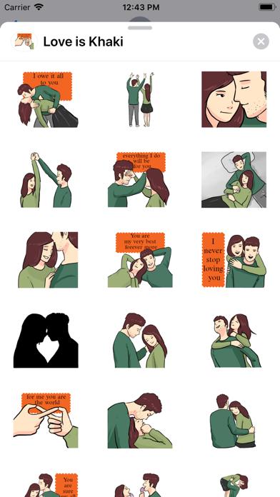 Love is Khaki screenshot 2