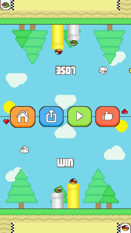 Flappy Family Bird Arcade screenshot-8