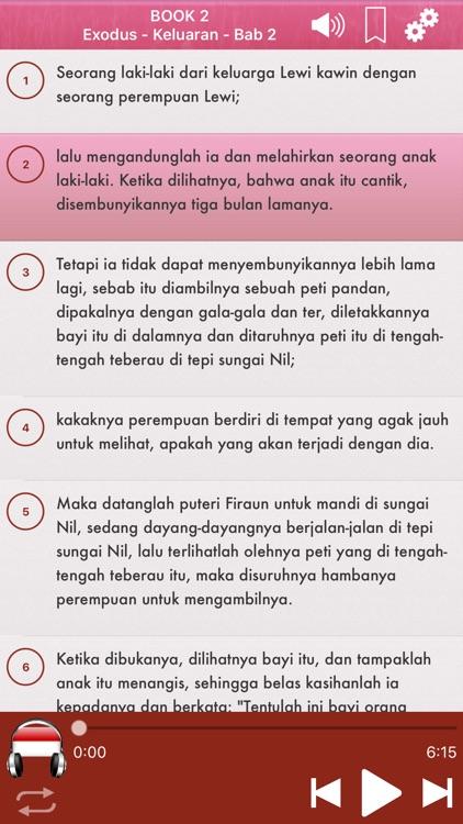 Indonesian Bible Audio mp3 Pro screenshot-3