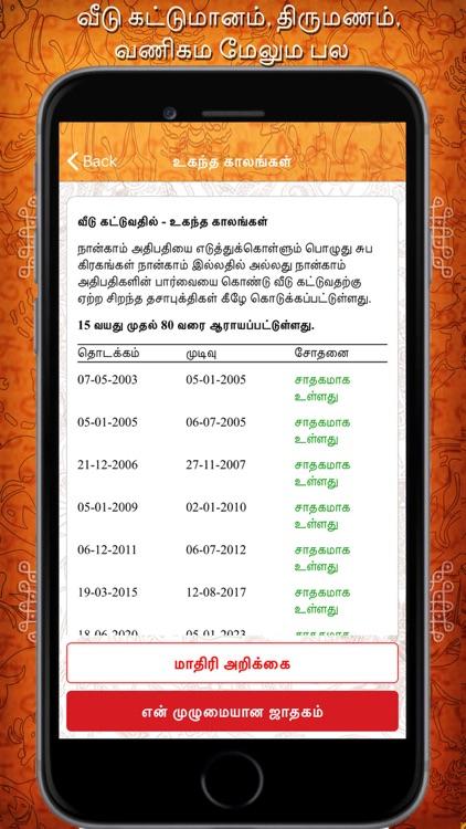 Daily Horoscope in Tamil screenshot-4