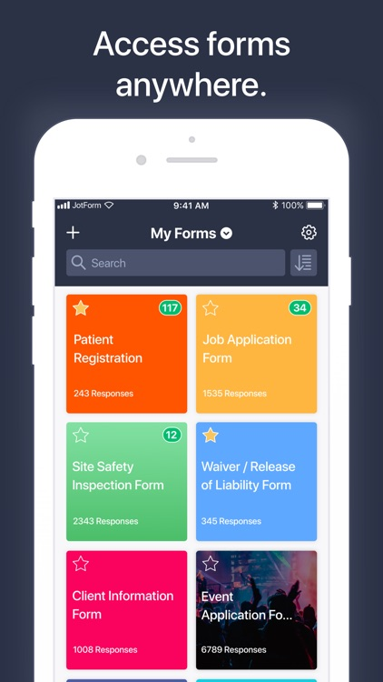 JotForm Mobile Forms screenshot-3